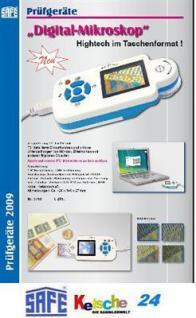 SAFE 9750 Digital - Mikroskop MAGNICAM Mikroskope 24 - 96 fach Vergrößerung mit CD - Batterien - USB Kabel Netzanschluß - Vorschau 2