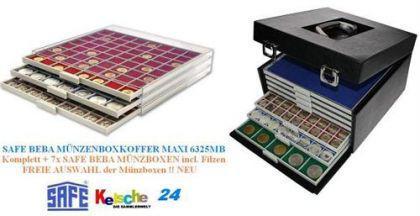 SAFE BEBA Münzkoffer 6325MB + 7x Münzboxen FREIE WA - Vorschau