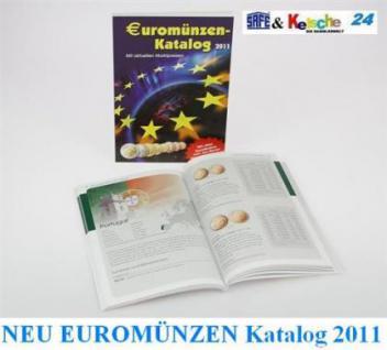 SAFE EUROMÜNZEN Katalog in Farbe 2011 NEU mit Estla