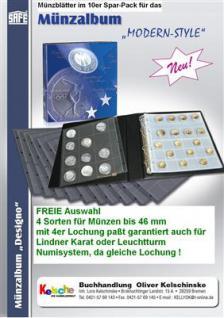 10 x SAFE Münzhüllen Modern Style FREIE Auswahl -55