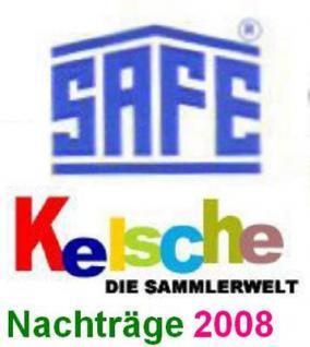 SAFE dual Nachträge Deutschland Zusammendrucke 2008 - Vorschau