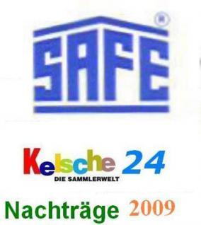 SAFE dual Nachtrag Deutschland Kleinbogen 2009 NEU