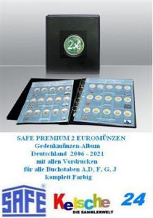 SAFE MÜNZALBUM 2 EURO GEDENKMÜNZEN DEUTSCHLAND 2006 - Vorschau