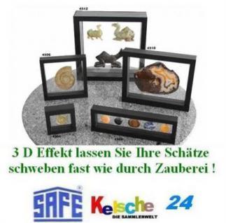 SAFE 3D SCHWEBERAHMEN FOTORAHMEN MINERALIEN EDELSTE