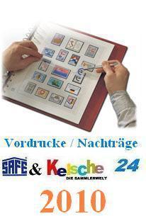 SAFE dual plus Nachträge Deutschland Teil 1 2010 NE