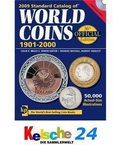 Standard Catalog of World Coins 1901-2000 2009 +DVD