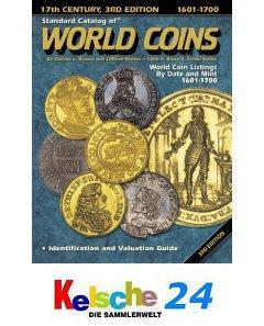 Standard Catalog of World Coins 1601-1700 2003 NEU