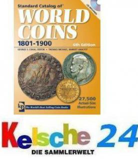 Standard Catalog of World Coins 1801-1900 2010 NEU