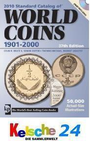 Standard Catalog of World Coins 1901-2000 +DVD 2010