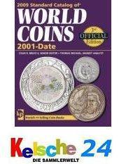 Standard Catalog of World Coins 2001-heute 2009 NEU