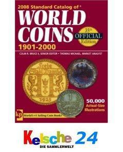 Standard Catalog of World Coins 1901-2000 2008 NEU - Vorschau