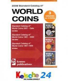 Standard Catalog of World Coins 1801-2008 Date 3er