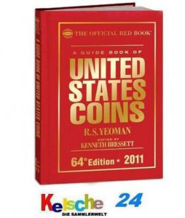 Yeoman The red book of US Coins USA Münzkat. 2011 -