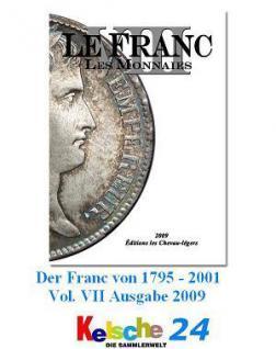 Le Franc Les Monnaies VIII Münzkatalog Frankreich 2 - Vorschau