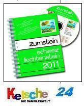 Zumstein Schweiz Liechtenstein Katalog Spiral 2011
