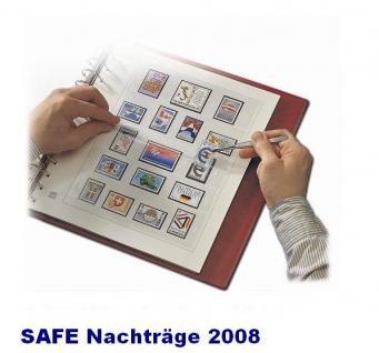 SAFE 1608 dual Nachträge - Nachtrag / Vordrucke Frankreich - France Jahresschmuckblätter - 2008