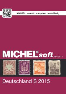 MICHELsoft Briefmarken Deutschland S 2015 - Version 11 - PORTOFREI in DEUTSCHLAND