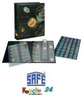 SAFE ARTline Münzalbum + 4 Hüllen für 134 Münzen - Vorschau