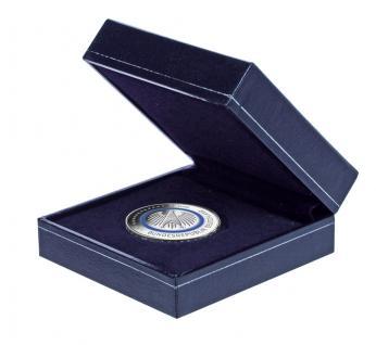 SAFE 7915 Blaues Münzetui Münzen Etui mit Schmuckprägung Für Deutsche Euro Gedenkmünzen Blauer Planer Erde 2016 - Vorschau