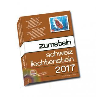 Zumstein Schweiz - Liechtenstein Briefmarkenkatalog.Gebunden 2017