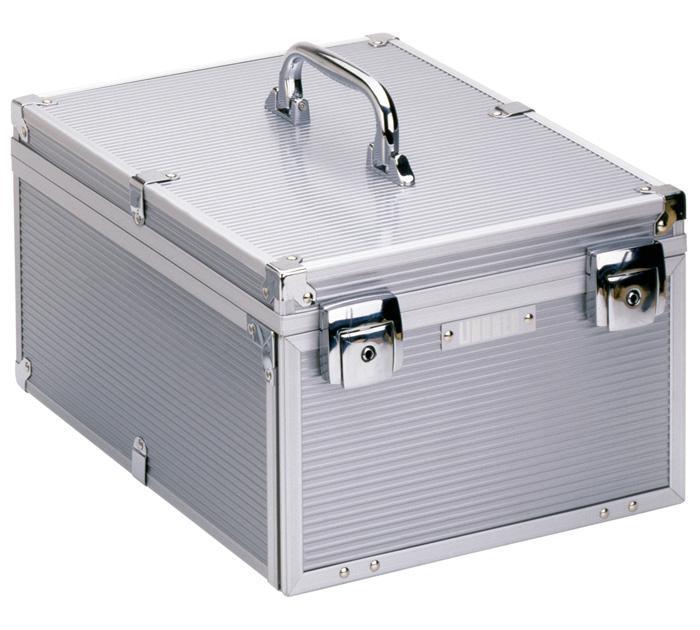lindner 2358 boxen koffer m nzboxenkoffer koffer aluminium. Black Bedroom Furniture Sets. Home Design Ideas