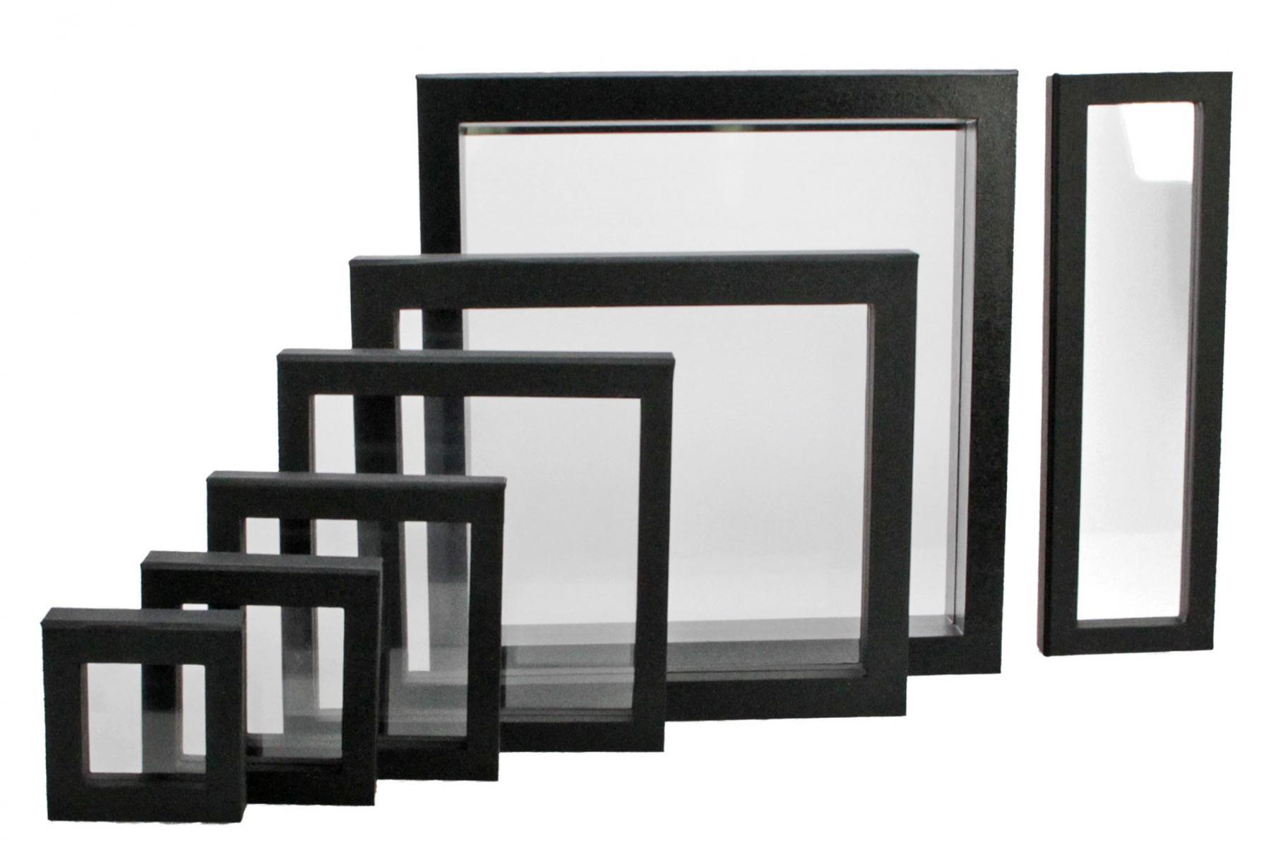 safe 4516 schwebe rahmen fotorahmen bilderrahmen 3d weiss. Black Bedroom Furniture Sets. Home Design Ideas