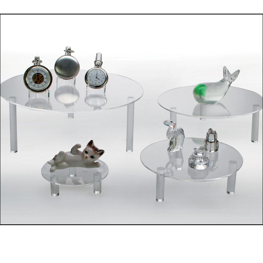 Safe 5280 runde acryl präsentationsteller deko aufsteller 100 mm ...