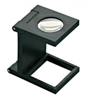 LINDNER 7197 Eschenbach Kunststoff Lupe Standlupe Fadenzähler 10 fache Vergrößerung Linse 12 mm - Vorschau 1