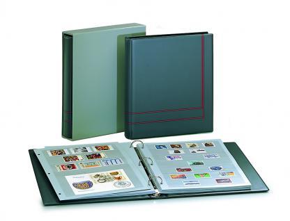 10 x SAFE 7126 EURO-SYSTEM Graue Einsteckblätter Ergänzungsblätter 6 Klemmstreifen 193 x 37 mm - Vorschau 3