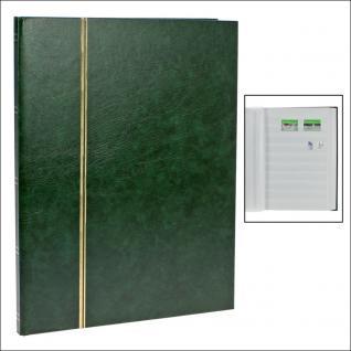 SAFE 110-3 Briefmarken Einsteckbücher Einsteckbuch Einsteckalbum Einsteckalben Album Grün 16 weissen Seiten