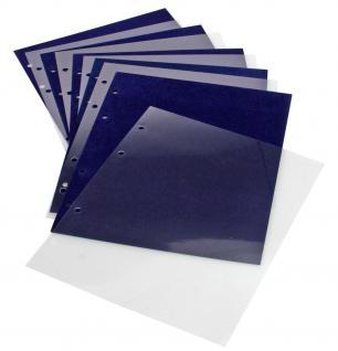 5 x SAFE 7862 Schutzhüllen für die SAFE 7861 Ergänzungsblätter Samttafeln Pin's