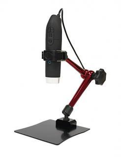 LINDNER 7156 eScope Auto Focus Digital Mikroskop Lupe mit 3D Ständer, 15-65 - 225 fache Vergrößerung