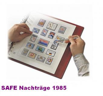 SAFE 1785 dual Nachträge - Nachtrag / Vordrucke Berlin Jahresschmuckblätter - 1985