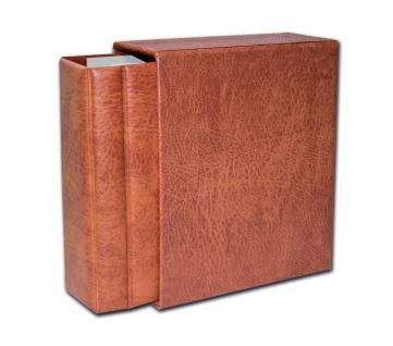 SAFE 7870 Luxus Skai Compact Album Universal Braun 250 x 230 x 80 mm (leer) zum selbstbefüllen
