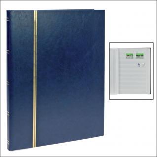 SAFE 110-4 Briefmarken Einsteckbücher Einsteckbuch Einsteckalbum Einsteckalben Album Blau 16 weissen Seiten