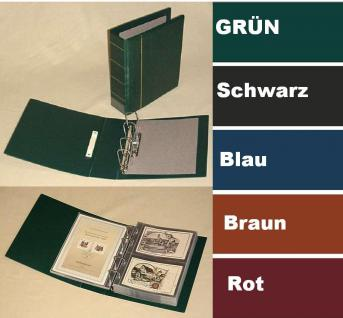 KOBRA G19B Blau ETB - Postkartenalbum Sammelalbum Binder Maxi (leer) zum selbst befüllen Für ETB - Postkarten - Briefe - Banknoten - Münzen