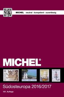 Michel Südosteuropa Briefmarken Katalog 2016/2017 Band 4 + ETB Bonus GRATIS