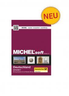 MICHELsoft MICHEL-Daten/Update 2016/2017 Briefmarken Deutschlard - PORTOFREI in DEUTSCHLAND
