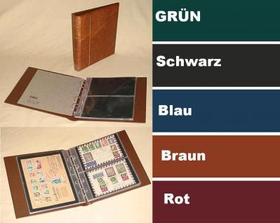 """KOBRA G24 Hellbraun - Braun Universal Doppel-FDC-Album Sammelalbum """" XL """" 10 Blättern Für 40 Fotos Bilder FDC Briefe Postkarten Ansichtskarten"""