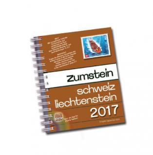 Zumstein Schweiz - Liechtenstein Briefmarkenkatalog.SPIRALBINDUNG 2017