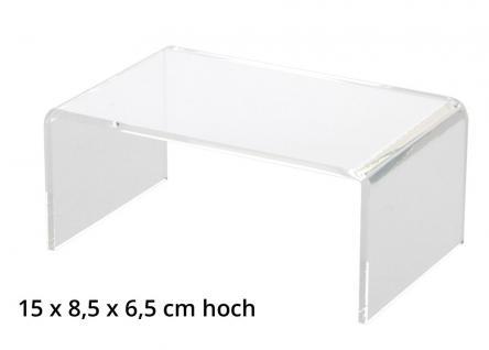 SAFE 5290 ACRYL Präsentationsbrücke Deko Aufsteller 150 x 85 x 65 Für Schaufenster Fenster Vitrinen Bürodekoration