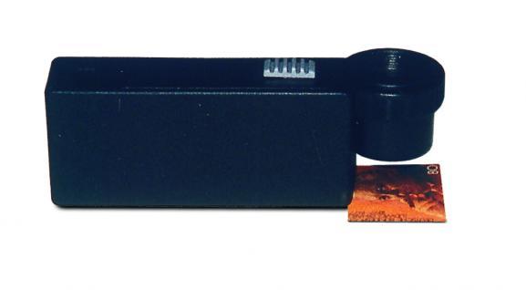 SAFE 9803 Leuchtlupe Standlupe Lupe Linse 13 mm mit einstellbarem Fokus 10x fache Vergrößerung