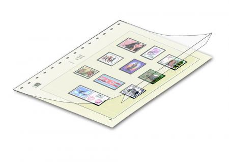 10 x SAFE 757 Schutz-Cover Cover Für alle Blattarten Favorit im Format 270 x 297 mm