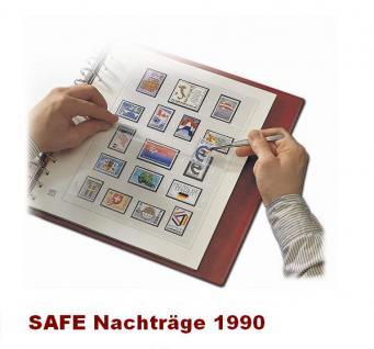 SAFE 1690 dual Nachträge - Nachtrag / Vordrucke Deutschland Jahresschmuckblätter - 1990