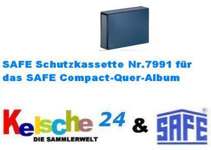 SAFE 7991 Schutzkassette Standard Blau für Compact-Quer 7991 - Vorschau 1
