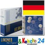 LINDNER 1119-2M Münzalbum 2 Euro Deutschland 2006-2