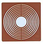 2 x LINDNER 2636 Münzbox Inletts quadratisch 51x 51 mm Münzkapseln dunkelrot für Münzen bis 45 mm