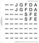 Lindner 16 Perforiertes Vordruckblatt Prägebuchstaben Jahreszahlen 1999- 2003 für K8 Münzblätter zum selbst gestalten