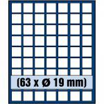 SAFE 6319 Nova Münzboxen - Schubladenelemente 63 eckige Fächer 19 mm für 2 Euro Cent 2 + 5 Pfennig