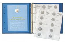 LINDNER 1505 2 Euro Münzalbum Gedenkmünzen Deutsche Bundesländer Vordruckalbum Band 1 - 2006 - 2015 bis 2021
